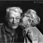 photo d'un vieux couple heureux de François Berton