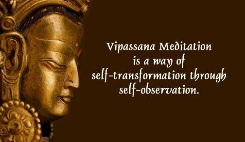 retraite de méditation vipassana