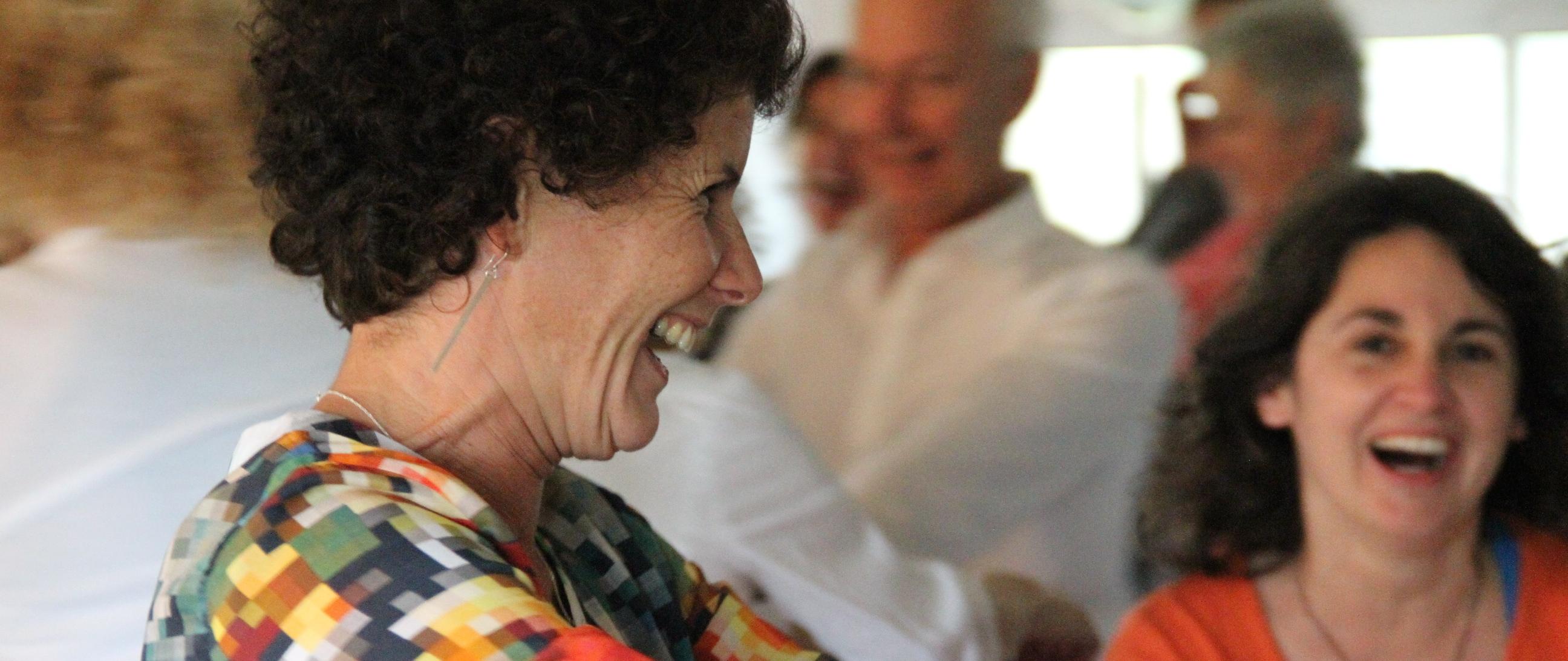 Stage yoga du rire : « Plus que jamais, cultivons le rire et la joie de vivre » animé par Corinne Vermillard les 4-5 juin